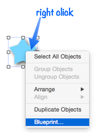 Form object blueprint the fastest way to open this dialog is to select one or more objects then right click and choose blueprint from the pop up menu malvernweather Choice Image